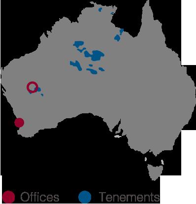 Toro Energy Australia Map
